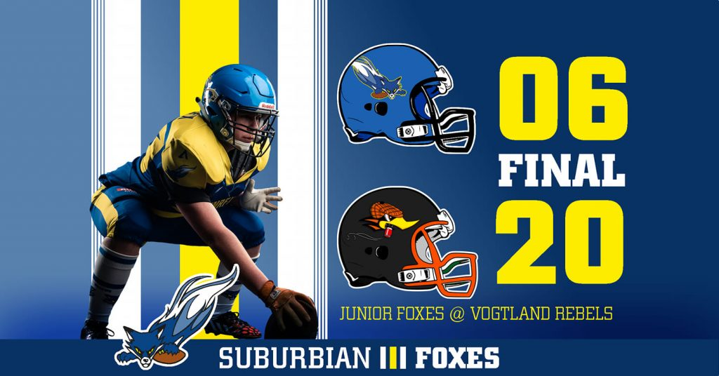 Spielergebnis Junior Foxes vs Junior Rebels