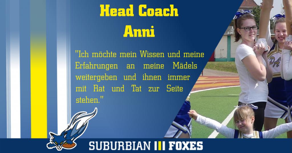 Interview Headcoach Foxy Paws Annabell Rotzsch
