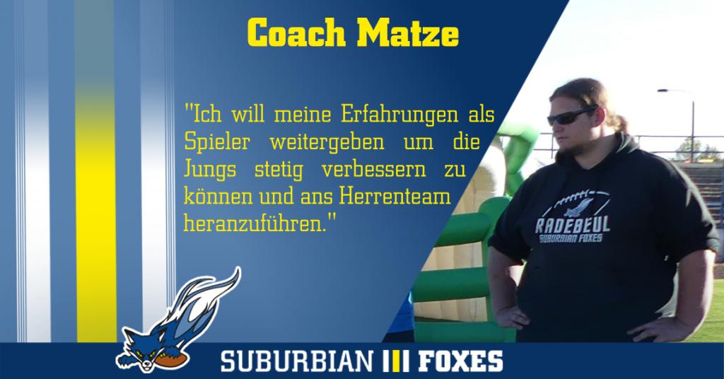 "Interview Coach Matthias ""Matze"" Maul"