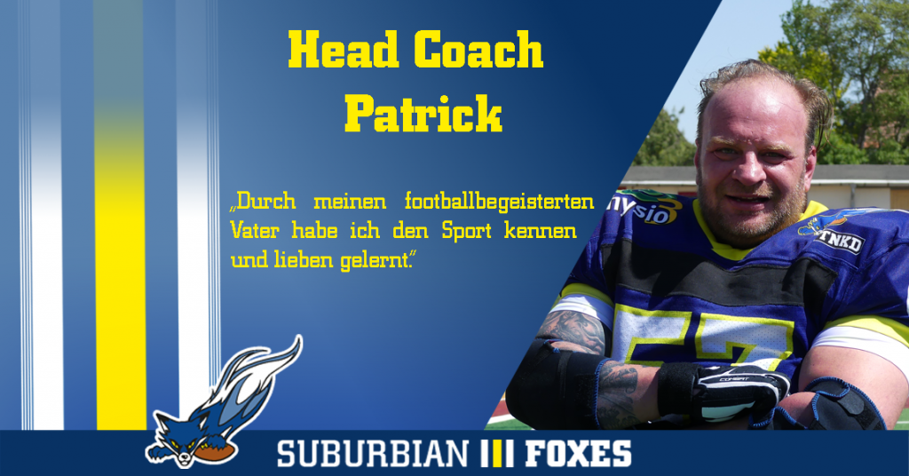 Interview Headcoach Cubs Patrick Groß